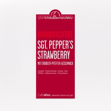 Rooibusch Tee Sgt. Peppers Strawberry