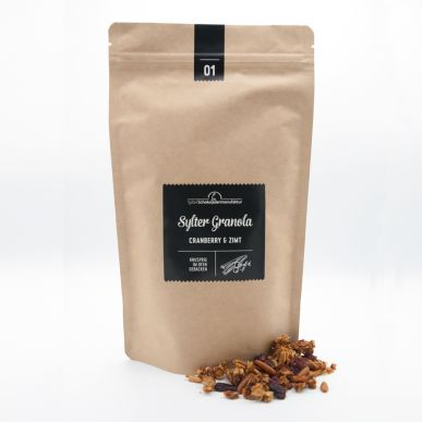 Sylter Granola 01 Cranberry & Zimt im NFP